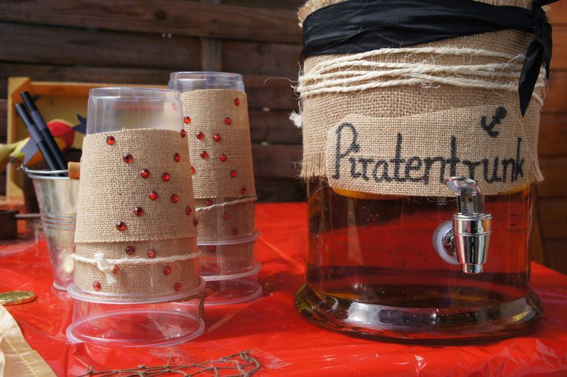 Piratenparty, pirate party, Trinken, drink, Food Design, Essen - piratenparty deko kaufen