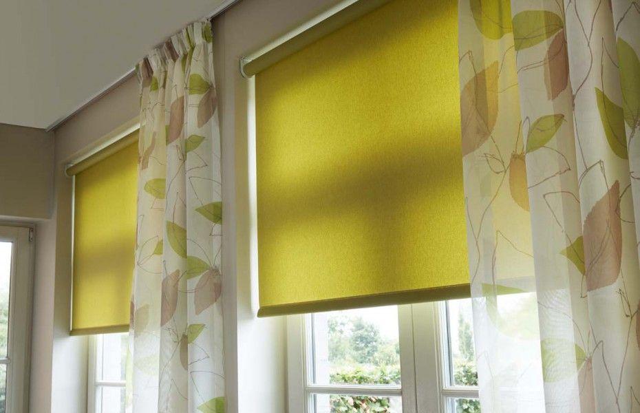 stores enrouleurs verts et voilages nala deco maison pinterest. Black Bedroom Furniture Sets. Home Design Ideas