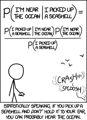 Bayesian Stats Joke | nerd :p | Statistics math, Data