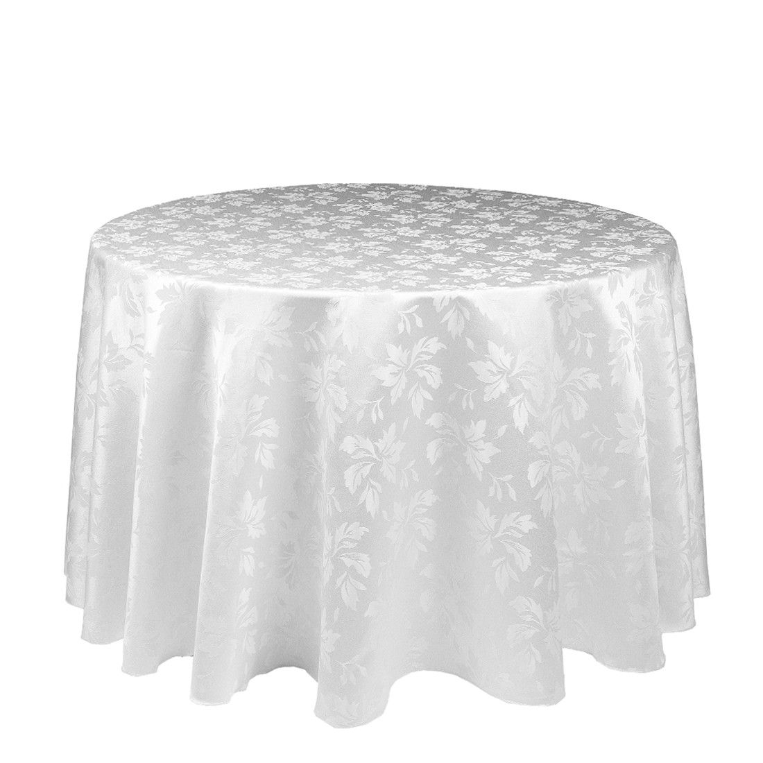 Good White Round Table Covers Starrkingschool