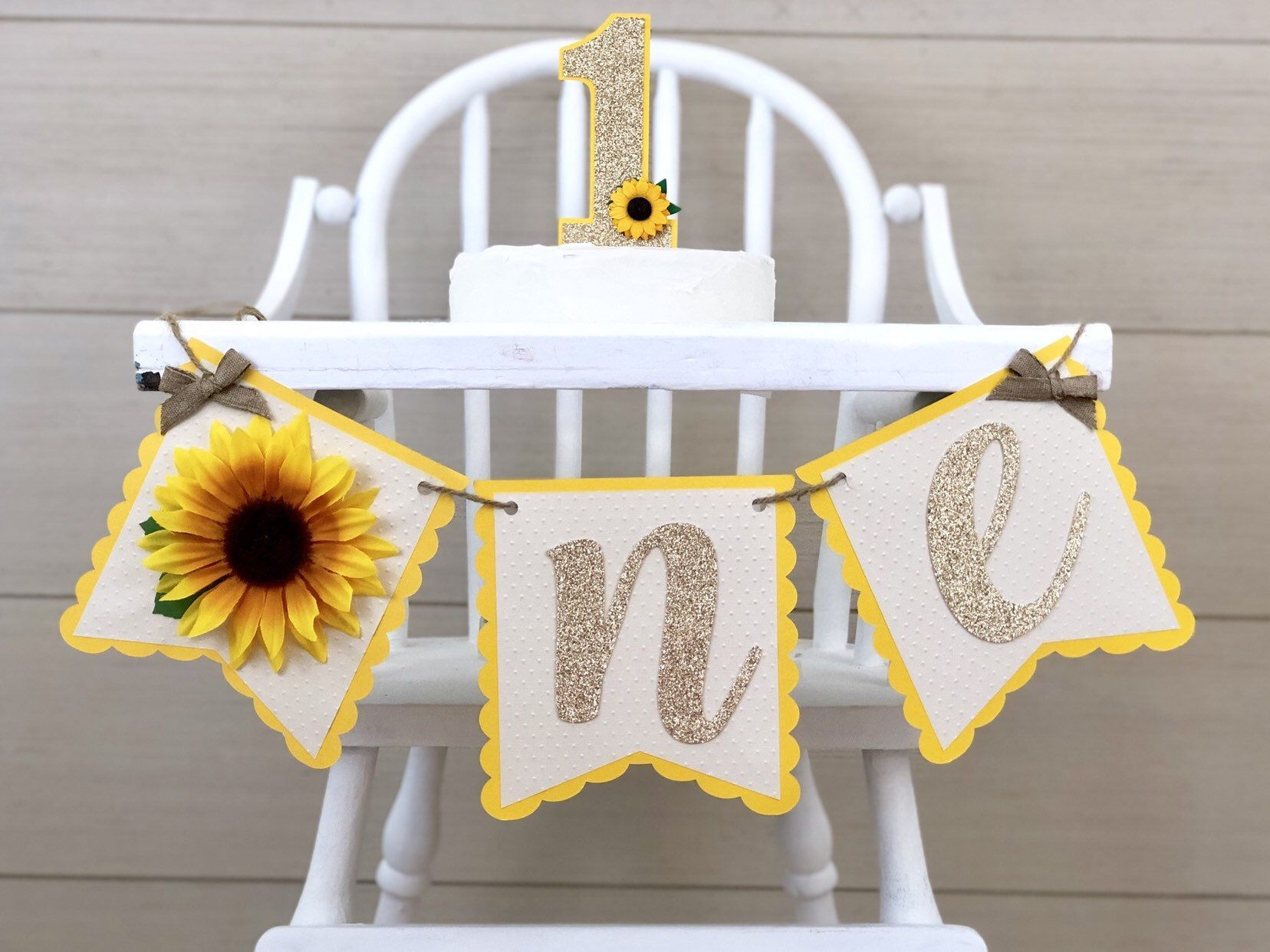 Sunshine 1st Birthday High Chair Banner Sunshine Banner Can Do Custom Themes High Chair Banner Wall Banner 1st Birthday Cake Smash