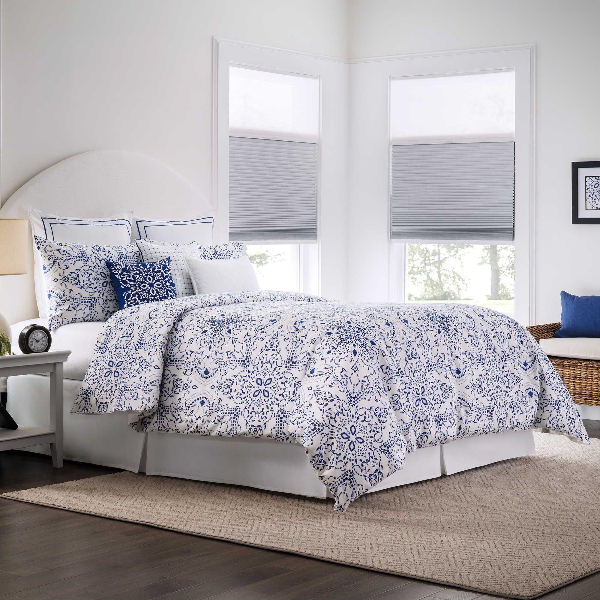 Bedroom Ideas Real Simple real simple lisbon reversible duvet cover set - bedbathandbeyond