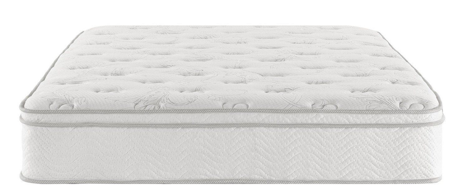 Mattress Foam Top Coil Full Queen Bedroom Furniture Firm