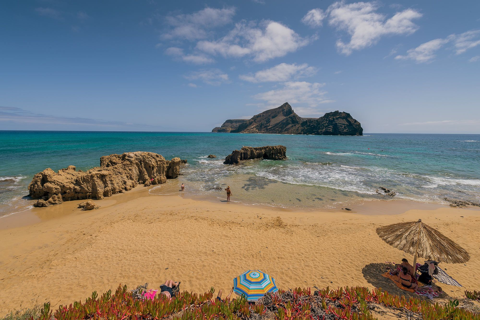 Porto Santo Outdoor Portugal Beach
