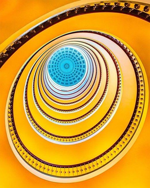 Escalier en Colimaçon - Bâtiment Axelborg - Copenhague - Danemark