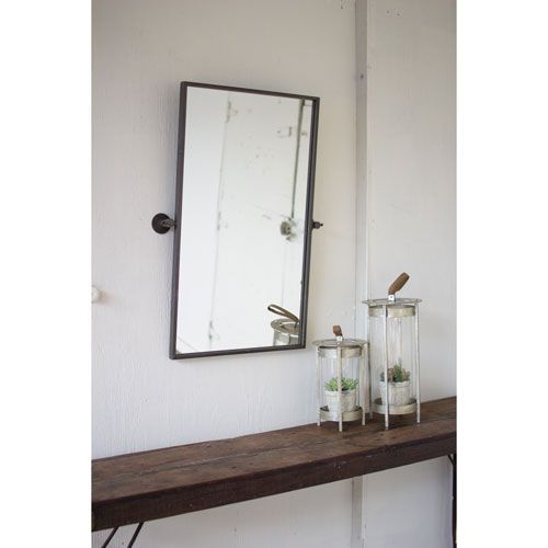 kalalou adjustable metal wall mirror products pinterest mirror rh pinterest com adjustable magnifying bathroom mirrors adjustable arm bathroom mirror