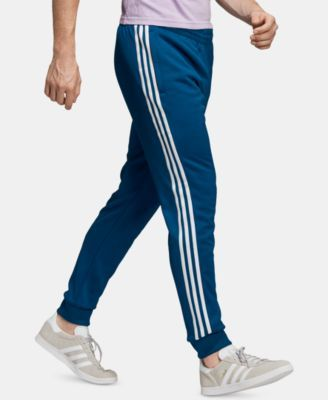 1f58f1a0dc adidas Men's Originals Adicolor Cuffed Track Pants - Blue L ...