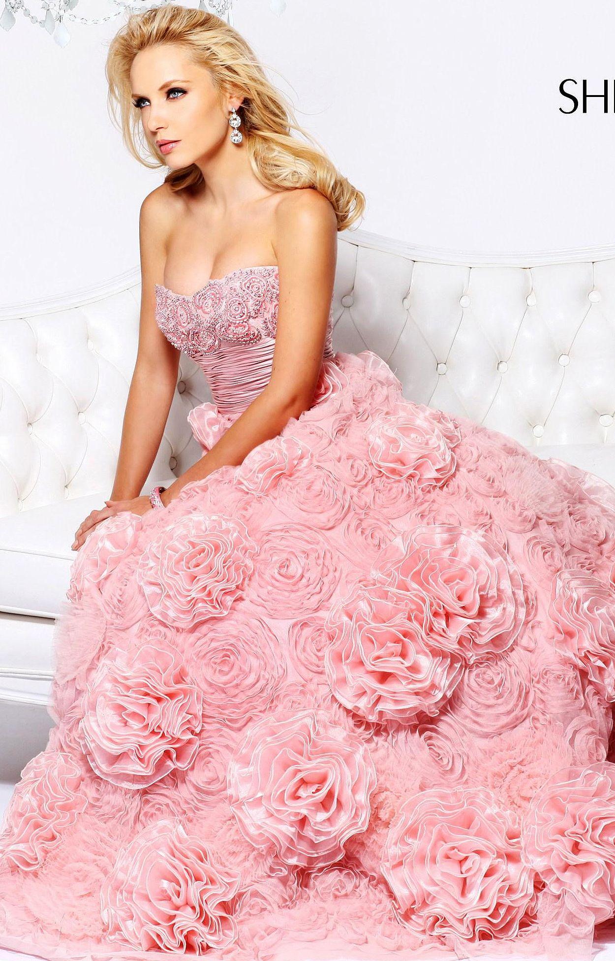 Sherri Hill (21171) - 2013 | Pink & Peach | Pinterest | Moda ...