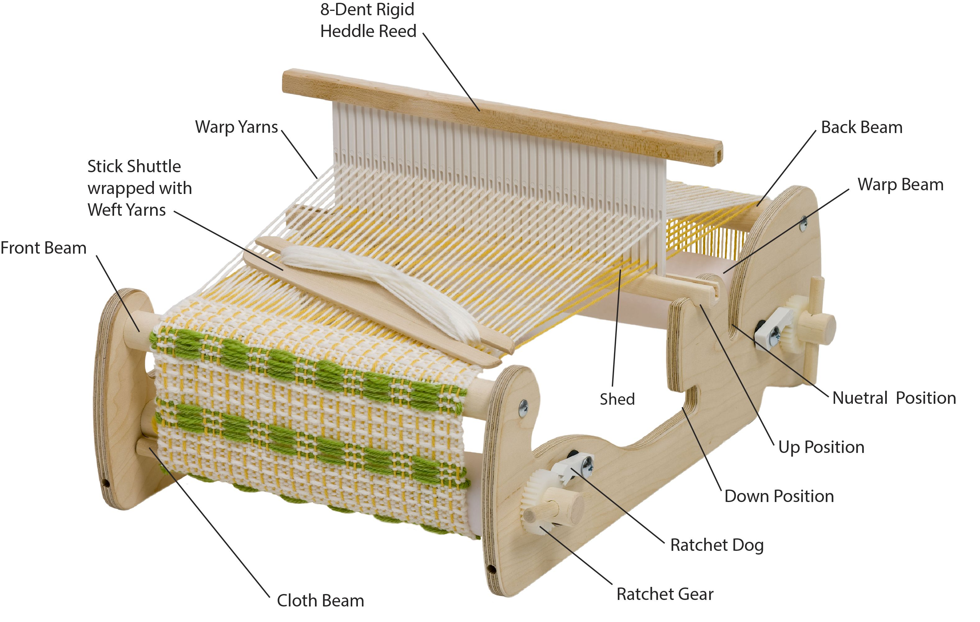 The Cricket Loom | Weaving | Pinterest | Weaving, Loom and Cricket loom