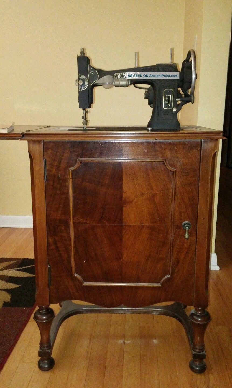 Rotary Sewing Machine : rotary, sewing, machine, White, Rotary, Electric, Sewing, Machine, Cabinet, Machines, Photo, Machine,