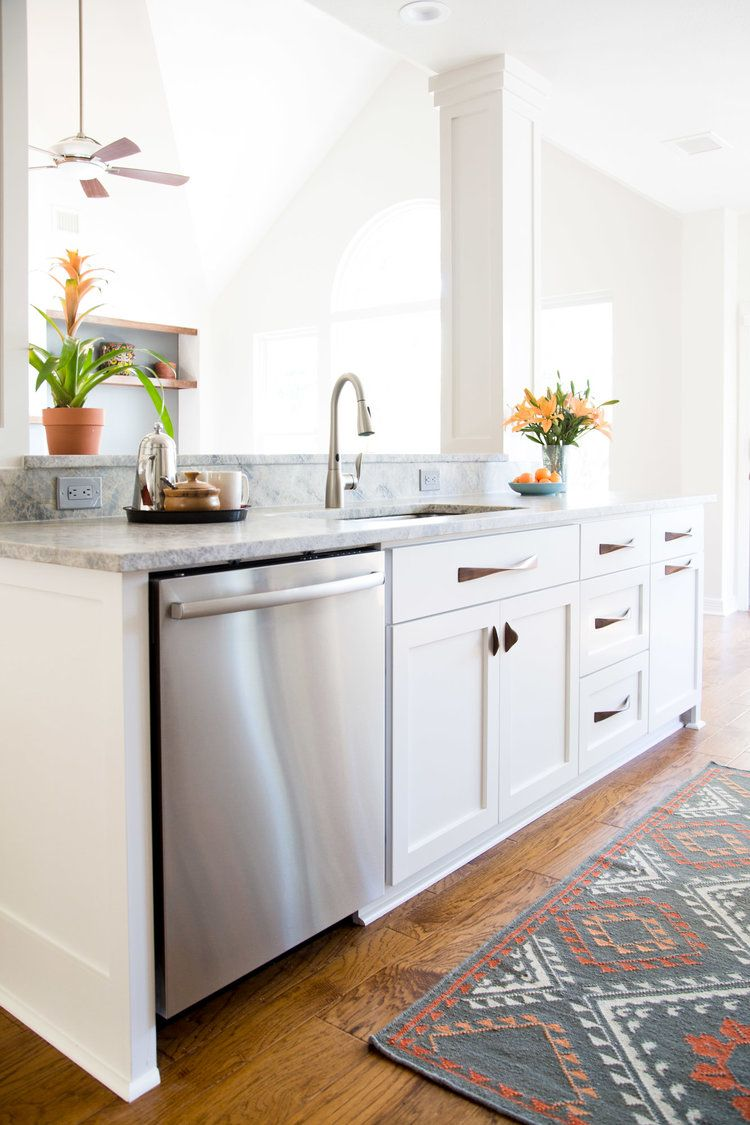 1960s Kitchen Remodel Before After: An Ordinary Kitchen Gets A Modern