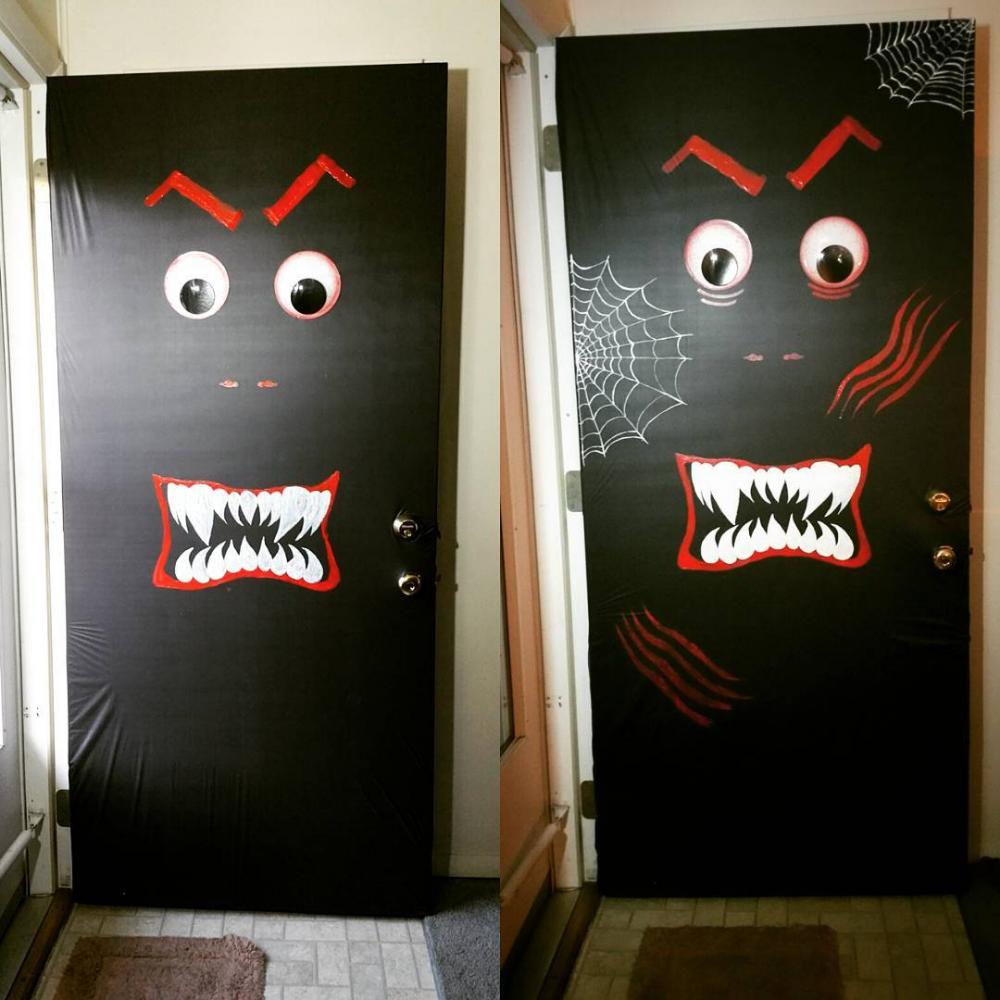 65 Unique Halloween Door Decorations To Spook Neighbors