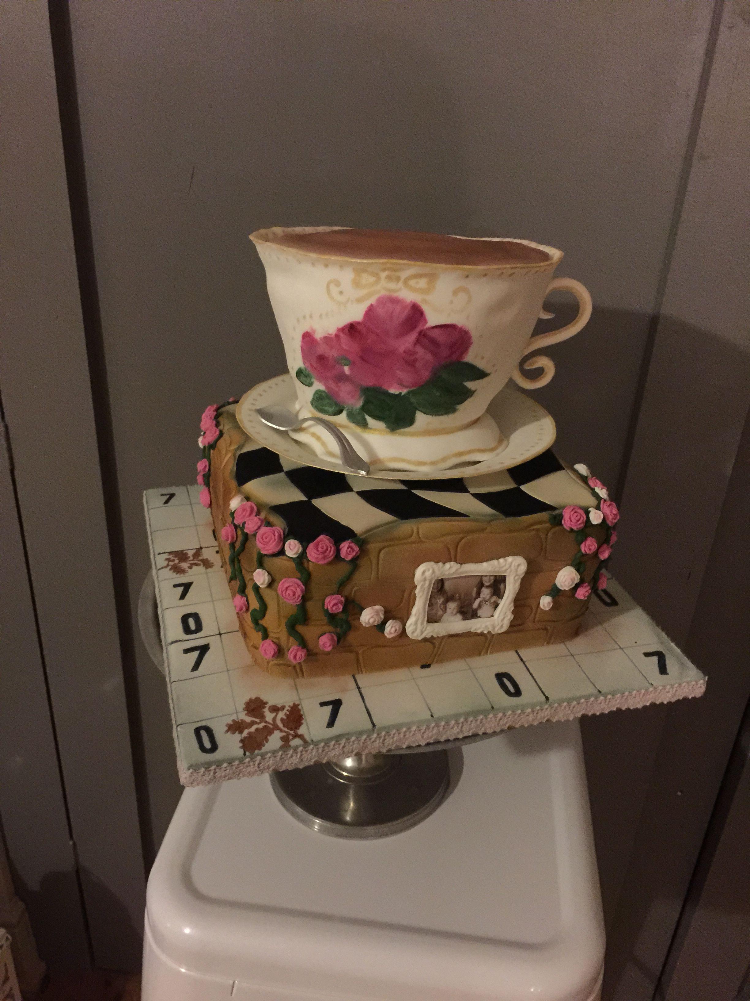 70th Birthday Cake, Suduko, national trust, flowers, formular one ...