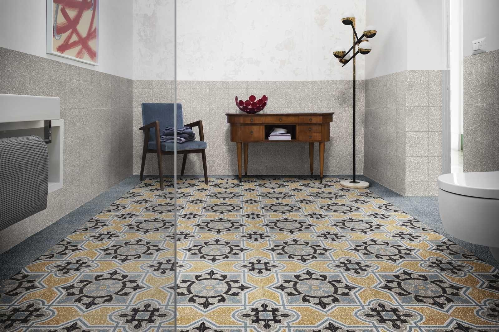 D Segni Scaglie Concrete Effect Bathroom Marazzi D Segni