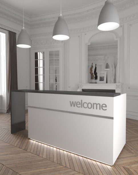 Photo of Reception desk Inwerk Paterio No. 1