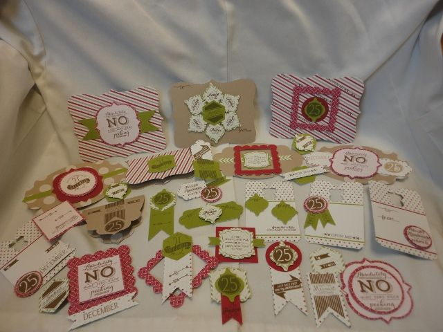 Pop and place holiday tags from stampin up 30 easy do it pop and place holiday tags from stampin up 30 easy do it yourself christmas tags solutioingenieria Gallery
