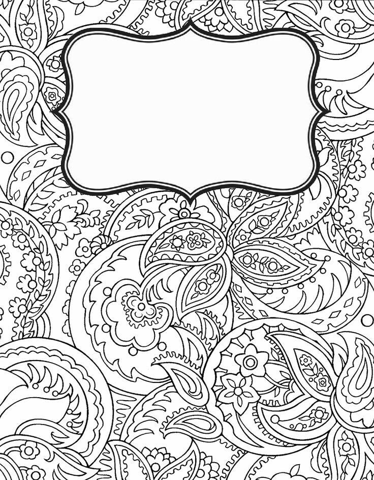 Cookbook Cover Coloring Page : Pin by sophia stones on portadas pinterest adult