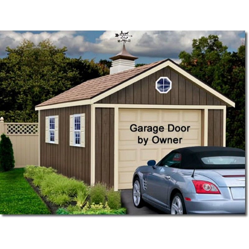 Best Barns Sierra 12x16 Wood Storage Garage Shed Kit ALL