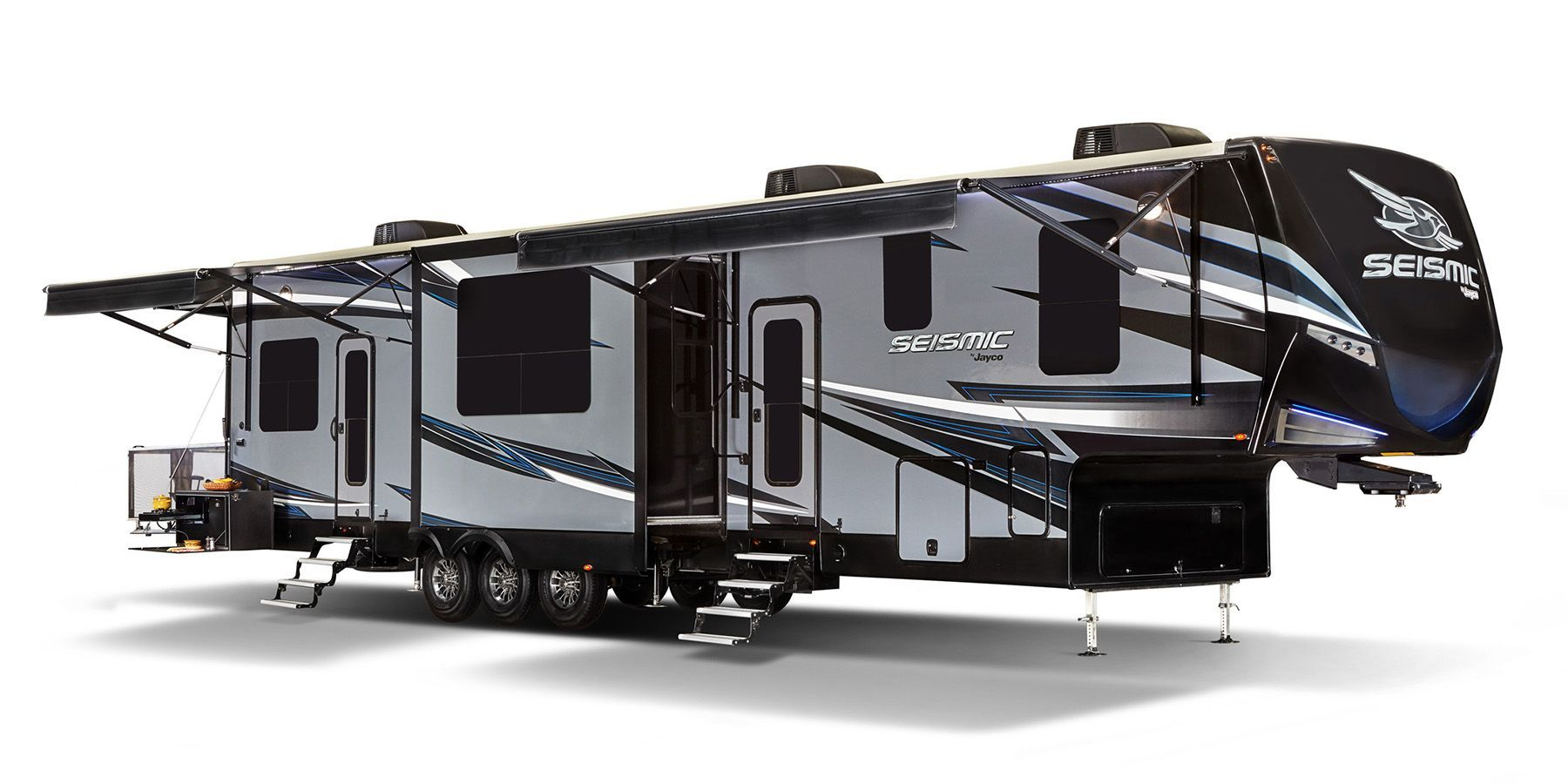 Jayco Seismic Fifth Wheel Toy Hauler Product Page Rv Steals