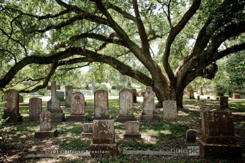 St. Francisville New orleans cemeteries, Louisiana