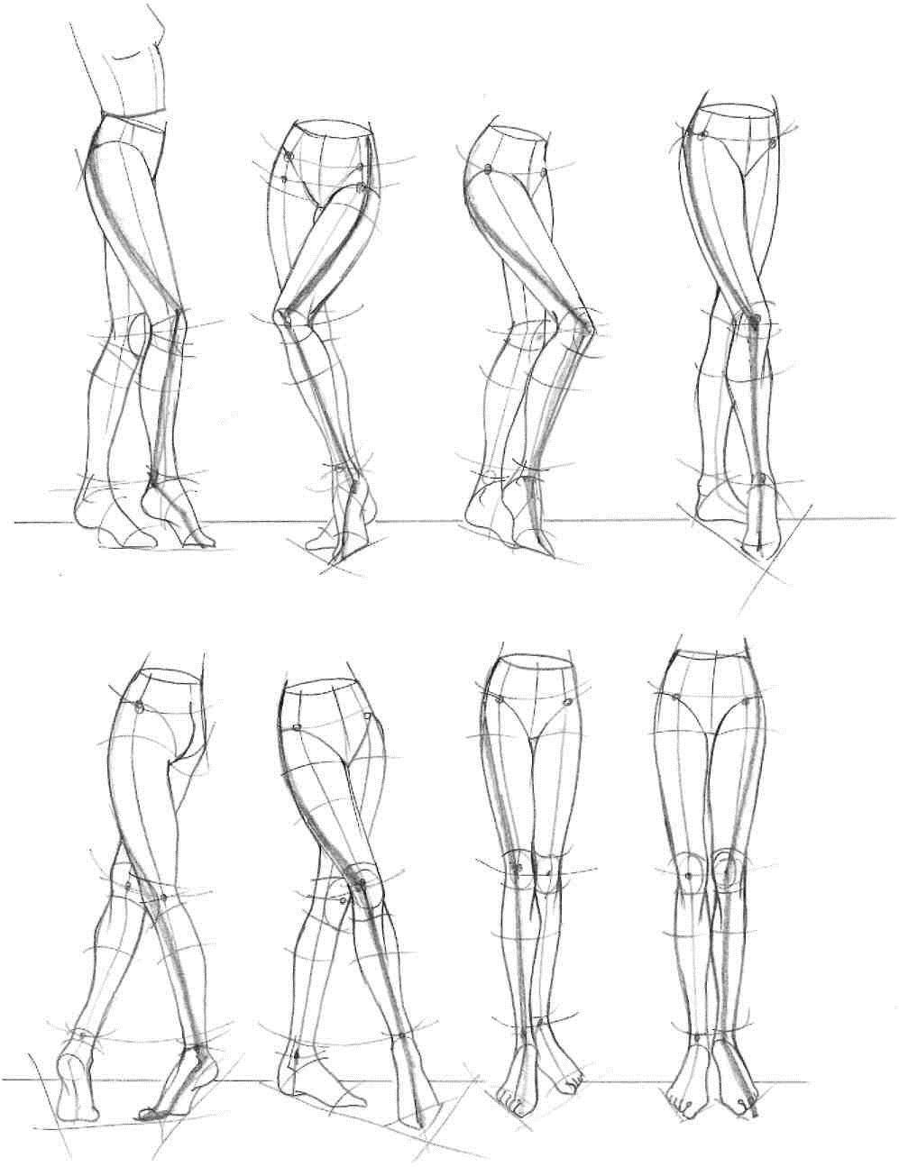 Учимся каркасной лепке. Создание каркаса. Лепка ног человека.