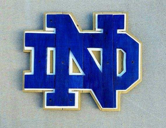 Notre Dame pallet sign | Fighting Irish sign | Pallet Wood ...