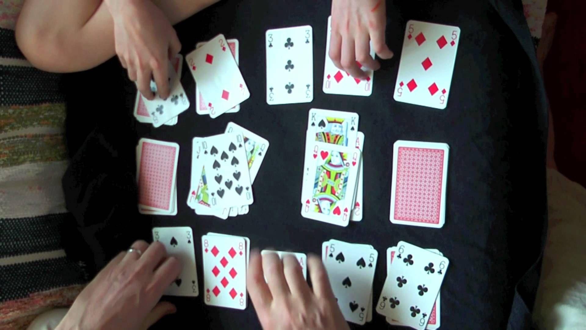 Big Deal Spit Card Game
