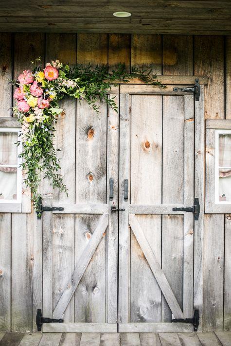 How To Submit Weddings To The Knot Barn Door Decor Door