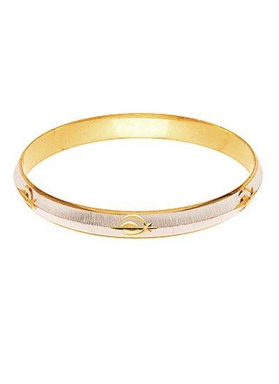 6833f567ab640 GOLD::SILVER PUNJABI SARDAR JI SIKKH FASHION KADA original copper ...