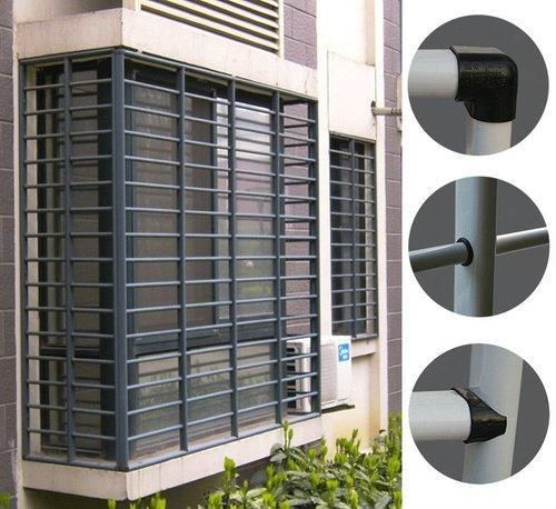 Security Grill Designing (With images) | Grill door design ...