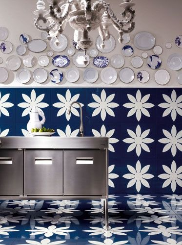 Bisazza\'s Metron glass wall and floor tiles Pictures | TILE ...