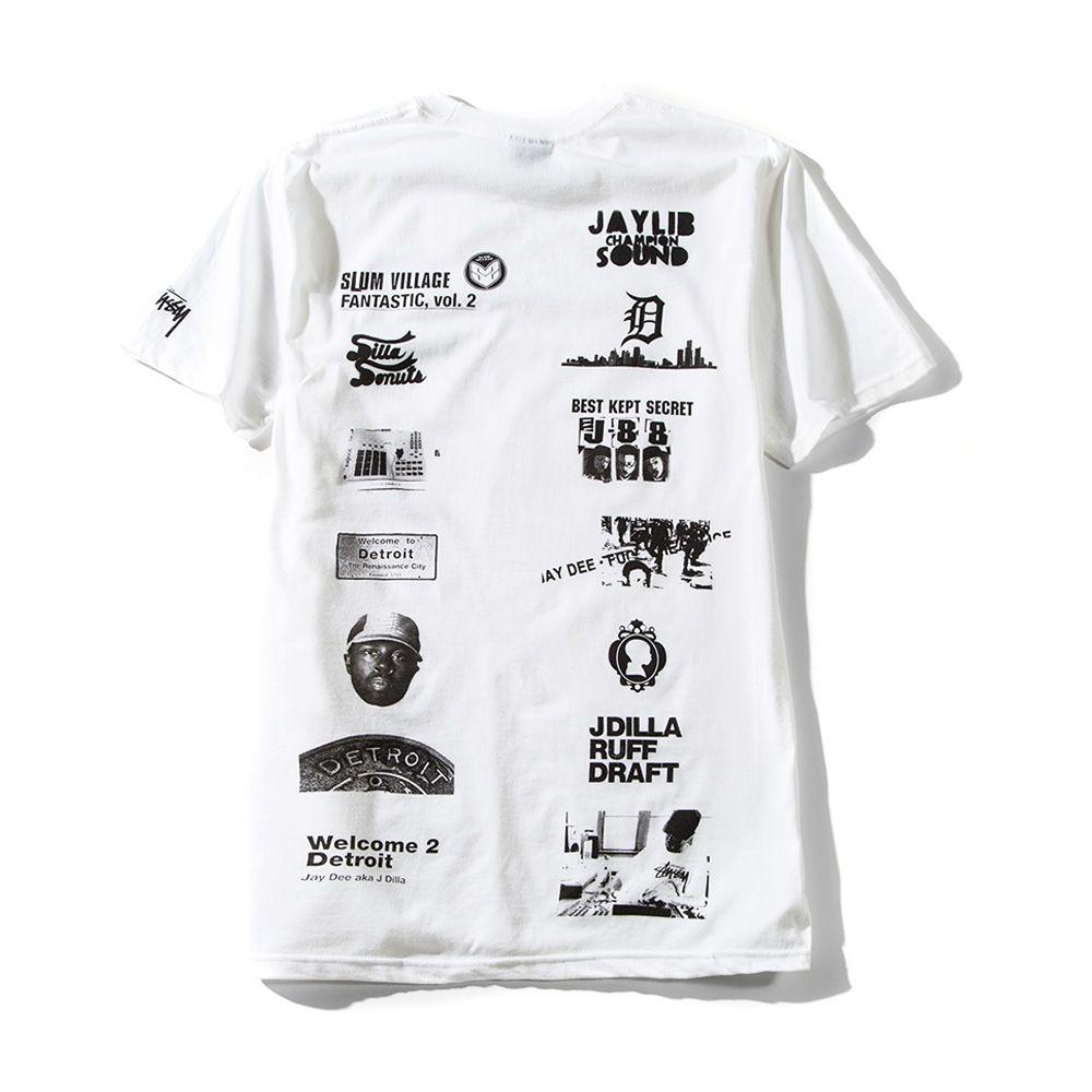 J Dilla X Stussy Tee Dilla Collage Stussy Tees T Shirts S