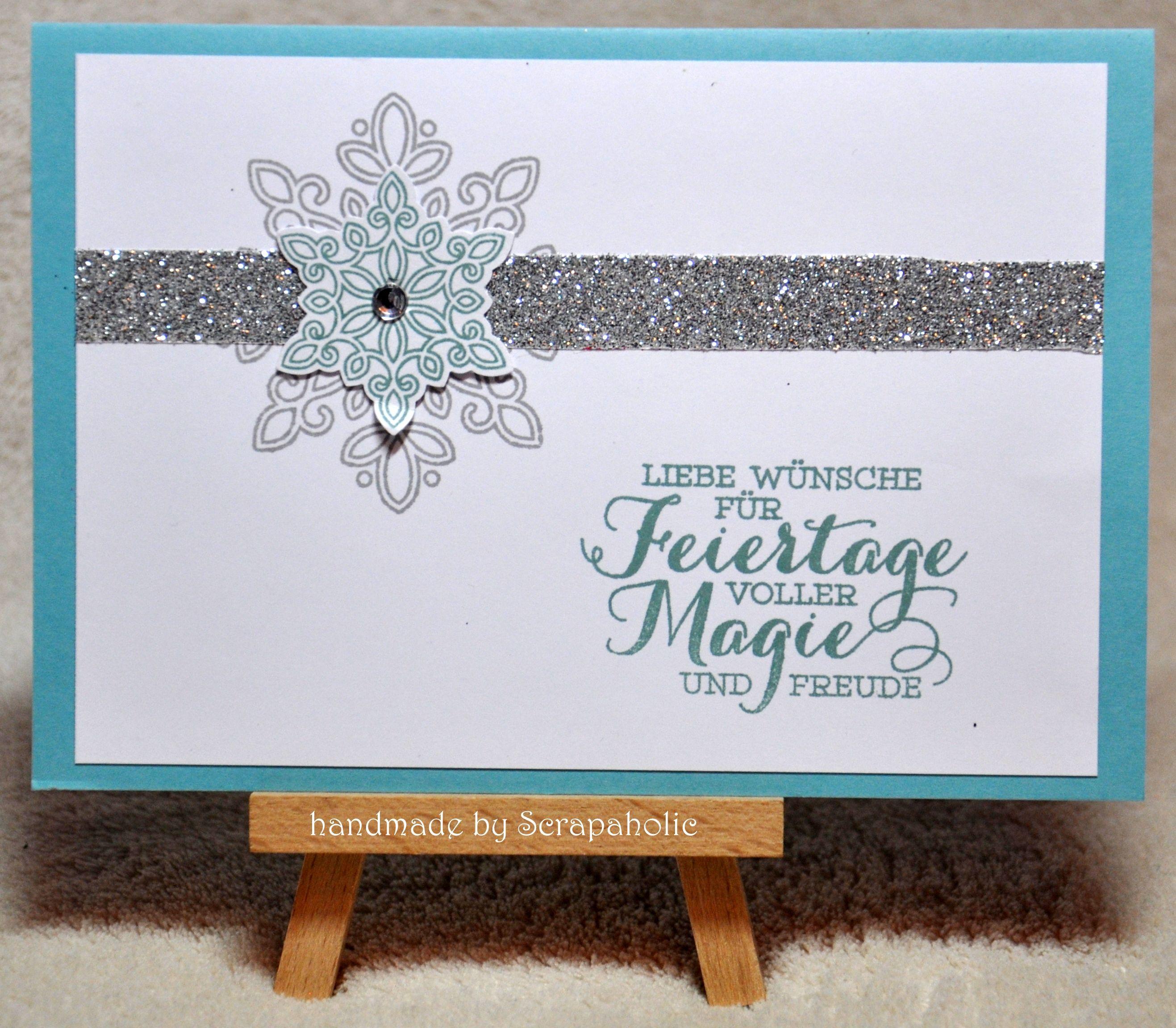 Xmas 2016 - Snowflakes - handmade by Scrapaholic