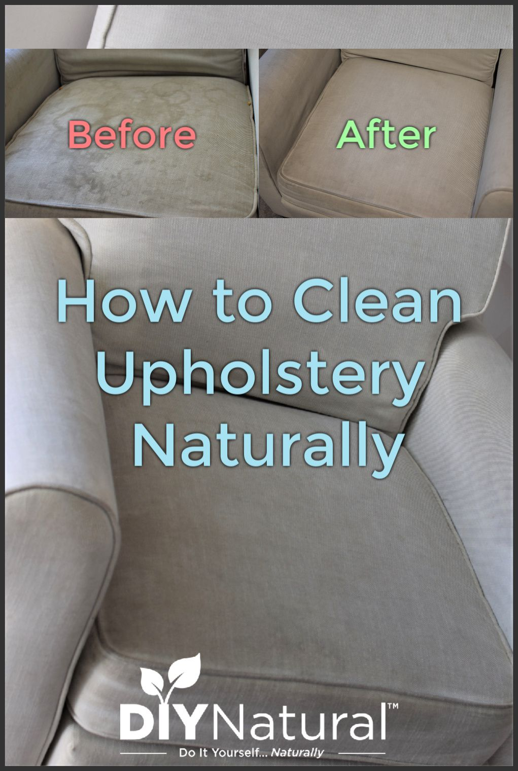 How To Clean Upholstery Naturally And A DIY Upholstery