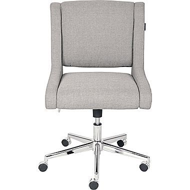 Broyhill Lynx Fabric Executive Office Chair Armless Oatmeal Color 46436 Office Chair Executive Office Chairs Best Office Chair