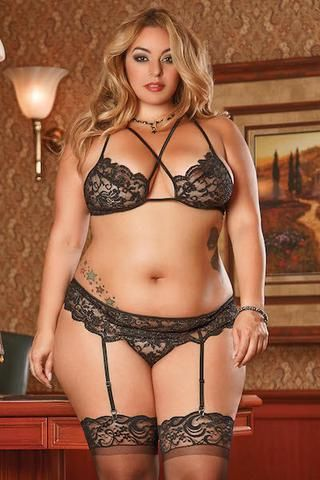 64106c0571 Bra and panty set - plus size bra set - Curvynbeautiful Plus size lingerie  - 1