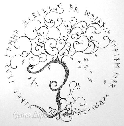 Arbol vida tatoos pinterest vida rbol de la vida y for Significado de un arbol sin hojas