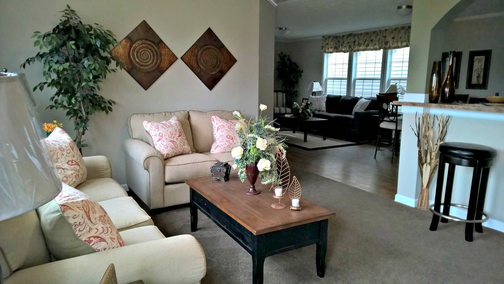 Living Room (With images) Oakwood homes, Home decor