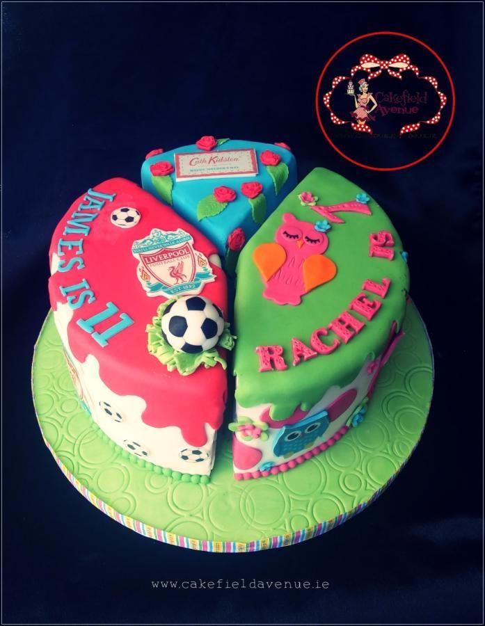 Awe Inspiring Joint Birthdays And Mothers Day Cake By Agatha Rogowska Personalised Birthday Cards Xaembasilily Jamesorg