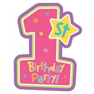 1st Birthday Logo