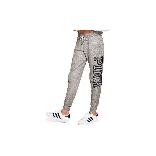 d7b2a4114fc4b Cute Sweatpants & Joggers for Women - PINK ($175) ❤ liked on ...
