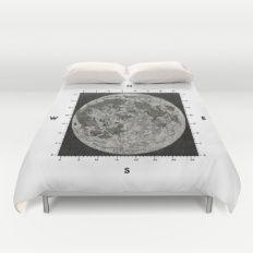 Moon Scale Duvet Cover