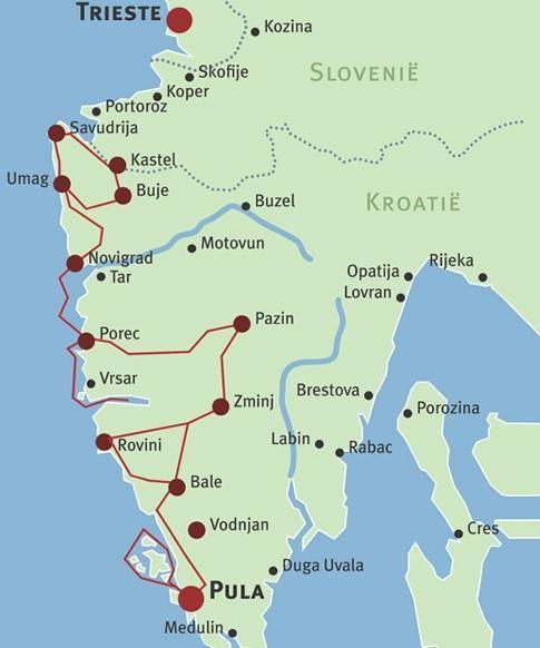 Istrie Reizen Kroatie Kroatie Europese Reizen