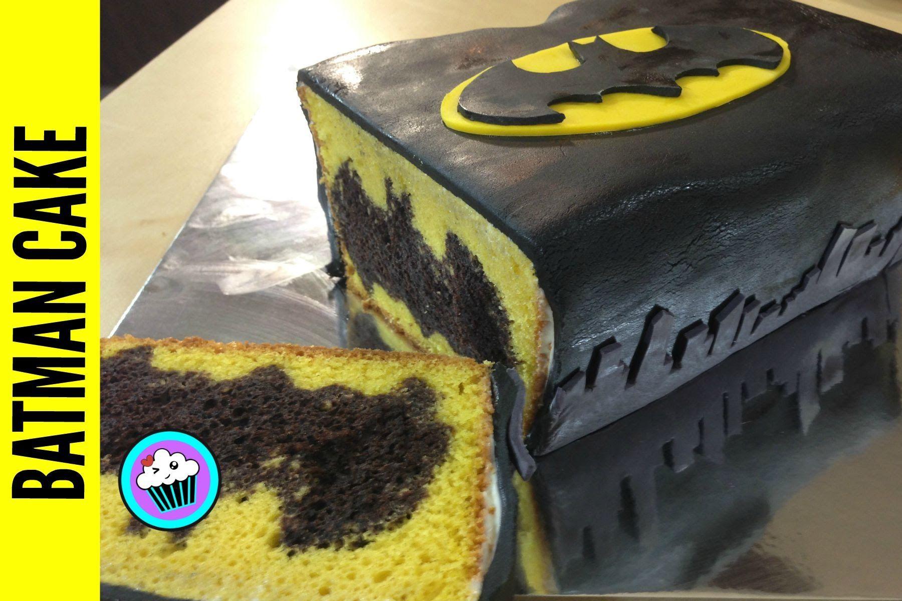 Today I Made Batman Surprise Inside Cake I Had To Make A Special