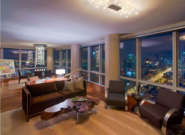 17 Bachelor Pad Decorating Ideas   Penthouses, Lights and Interiors