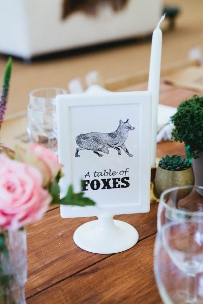 Animal Themed Country Wedding In The United Kingdom 2018 Weddingfo Pinterest Table And Themes
