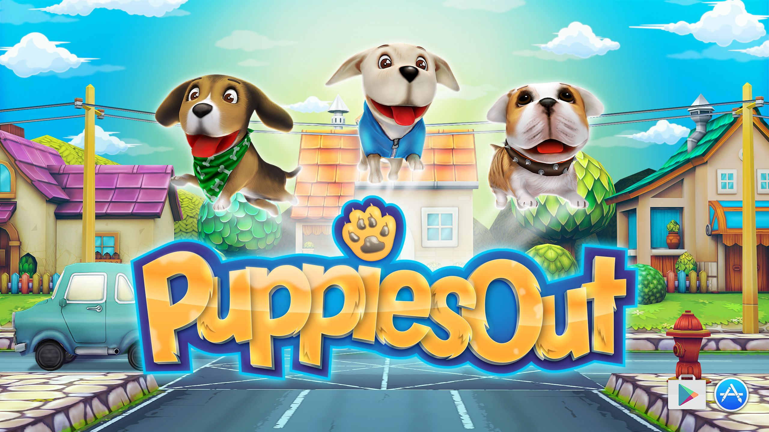 Puppies Out Cute pet names, Runner games, Puppies
