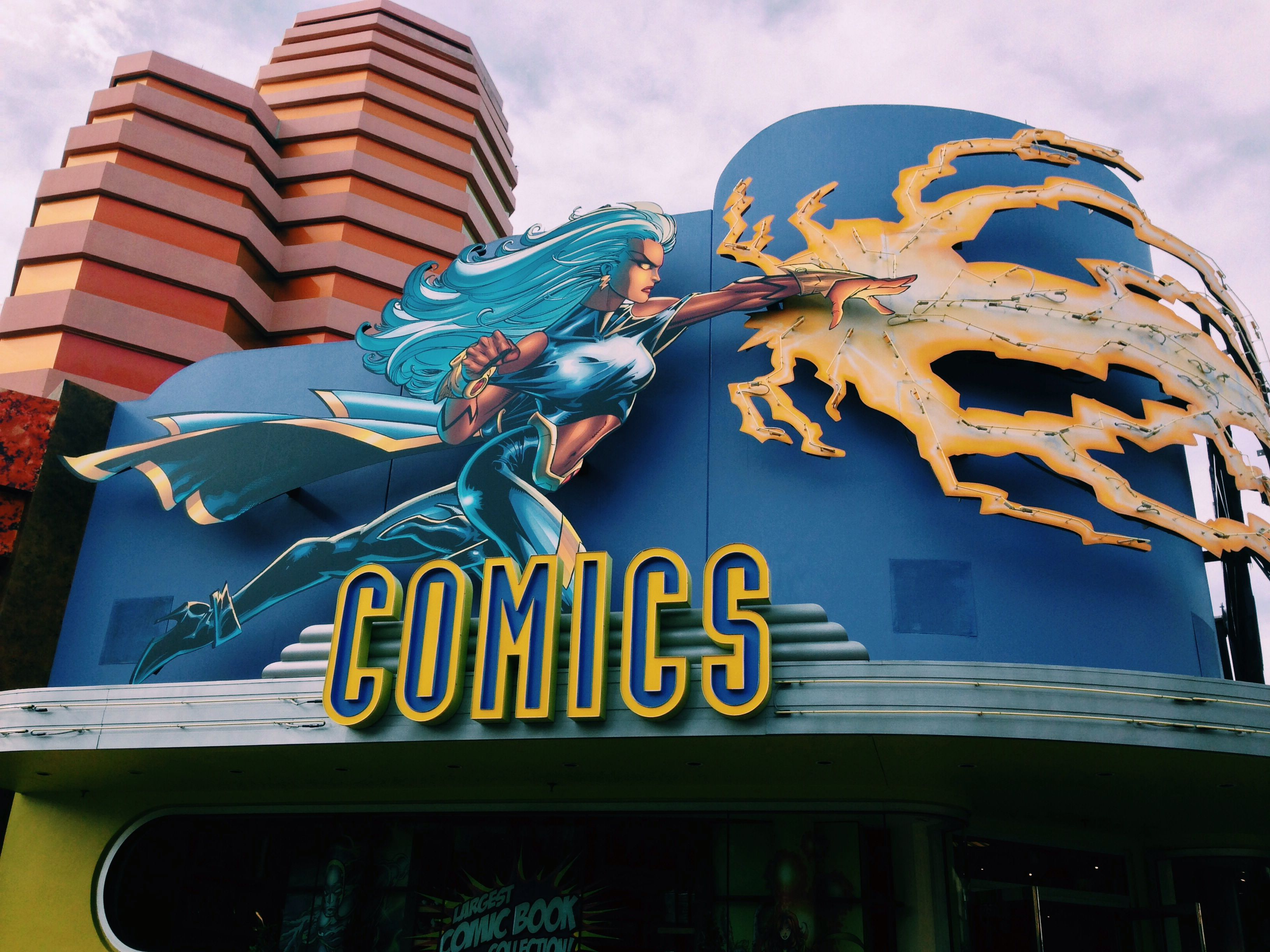 Storm Comic Book Store Marvel Island At Universal S Islands Of Adventure