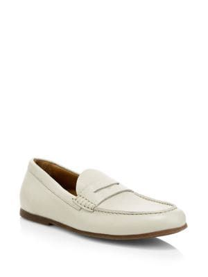 e70cb13e5a6 AQUATALIA Kirk Pebbled Leather Penny Loafers.  aquatalia  shoes ...