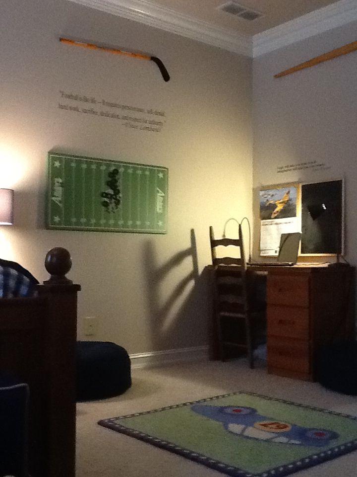 Purple print chair - Kyle S Room 3 Boys Bedroom Home Decor And Design
